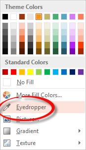 เทคนิคแมทช์สีให้ออบเจ็กต์อย่างมืออาชีพด้วย Eyedropper