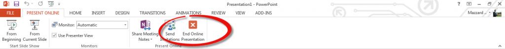 นำเสนองานออนไลน์ผ่านเว็บราวเซอร์ด้วย PowerPoint 2013