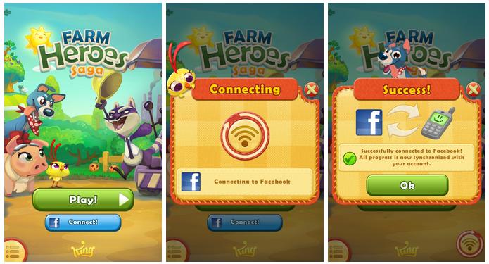 วิธีเพิ่มหัวใจเกมส์ Farm heroes saga บนมือถือ