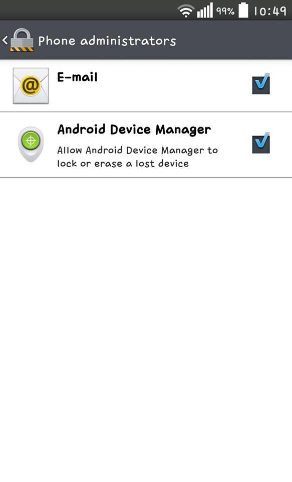 ตามหามือถือ Android ที่หายไปด้วย Android Device Manager
