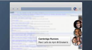 สะดวกยิ่งขึ้นเมื่อ Facebook Messenger อยู่บนหน้า Chrome