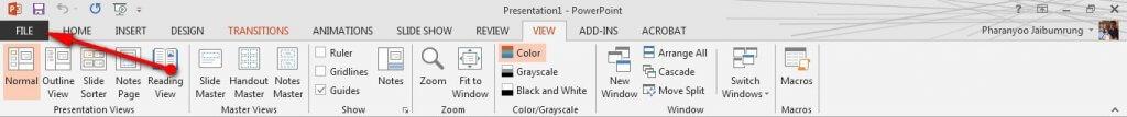 วิธีทำโบรชัวร์ แผ่นพับง่ายๆ ด้วย Powerpoint 2013