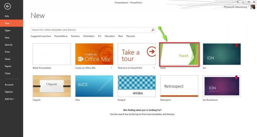 ออกแบบพื้นหลัง PowerPoint ด้วย Video Background