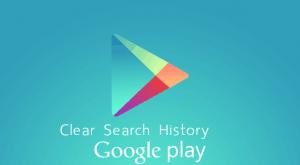 วิธีลบประวัติการค้นหาแอพบน Google Play