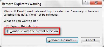 วิธีลบข้อมูลซ้ำอย่างรวดเร็วภายใน Excel